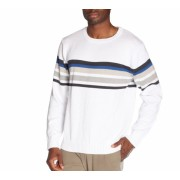 Alki'i Classic Thick Crew Neck Men's Sweater Multi White - Cardigan - $17.99