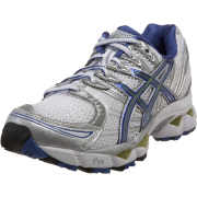 ASICS Women's GEL-Nimbus 12 Running Shoe White/Delphinium/Kiwi - Sneakers - $74.95