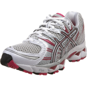 ASICS Women's GEL-Nimbus 12 Running Shoe White/Titanium/Raspberry - 球鞋/布鞋 - $74.95  ~ ¥502.19