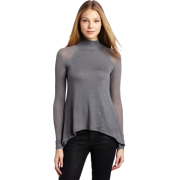 BCBGMAXAZRIA Women's Ruri Turtleneck Full Top Grey - Top - $98.00