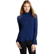 BCBGMAXAZRIA Women's Ruri Turtleneck Full Top Ink - Top - $98.00