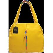 BRUNO ROSSI Italian Designer Shoulder Bag Handbag in Yellow Leather - Bolsas pequenas - $459.00  ~ 394.23€