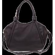 BRUNO ROSSI Italian Made Black Calf Leather Handbag - Bolsas pequenas - $489.00  ~ 419.99€