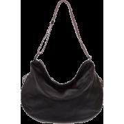 BRUNO ROSSI Italian Made Black Calf Leather Hobo Bag - Bolsas - $489.00  ~ 419.99€