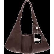 BRUNO ROSSI Italian Made Brown Calf Leather Hobo Bag - Bolsas - $495.00  ~ 425.15€