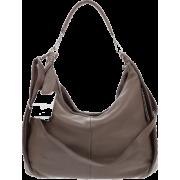 BRUNO ROSSI Italian Made Deerskin Leather Shoulder Bag - Bolsas - $545.00  ~ 468.09€
