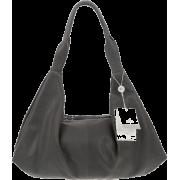 BRUNO ROSSI Italian Made Gray Calf Leather Hobo Bag - Bolsas - $495.00  ~ 425.15€