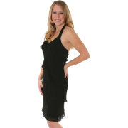 Black SILK Halter Dress JONES NEW YORK Designer Sizes 12 or 14 M or L - Haljine - $64.96  ~ 412,66kn