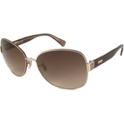 COACH S1019 Sunglasses (223) Brown - Sunglasses - $89.00