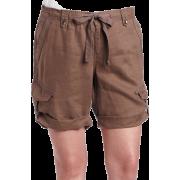 Calvin Klein Jeans Womens Surplus Bermuda Short,Brown Shale,24W - Shorts - $59.50