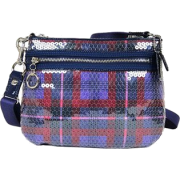 Coach 44393 Poppy Pop C Swingpack Crossbody Messenger Berry - Messenger bags - $159.99