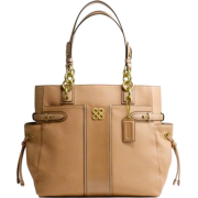 Coach Colette Leather Stripe North South Tote 16432 - Torby - $339.99  ~ 292.01€