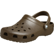 Crocs Unisex's Classic Clog Choc - Sandals - $15.99