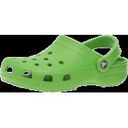 Crocs Unisex's Classic Clog Lime - Sandals - $15.99