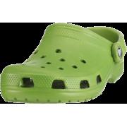 Crocs Unisex's Classic Clog Parrot Green - Sandals - $15.99