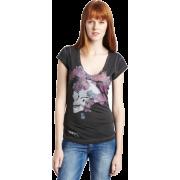 Diesel Women's Tulur-B T-Shirt Black - Camisola - curta - $75.00  ~ 64.42€