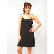 ELLA MOSS BLACK ESTEE DRESS - Top - $38.00