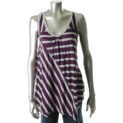 Ella Moss Knit Top Purple BHFO Sale Misses Shirt S - Top - $88.00