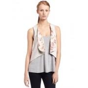 Ella Moss Womens Campbell Drape Vest - Vests - $33.43
