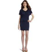 Ella Moss Womens Odela Braid V-Neck Dress - Dresses - $73.58