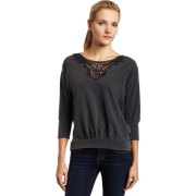 Ella moss Womens Triumph 3/4 Sleeve Scoop Top - Top - $121.00