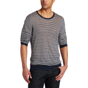 Ever Mens Edema Striped Sweater - Long sleeves shirts - $128.00