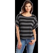 Ever Women's Redondo-stripe Short Sleeve Tee - T-shirts - $75.00