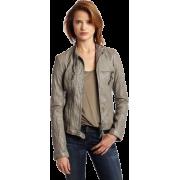 Ever Women's Sinai leather jacket - Jacket - coats - $748.00