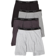 Hanes Classics Men's 4-Pack Multi-Color Boxer Brief Underwear Grey/Black - Underwear - $13.46