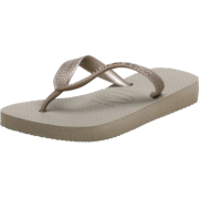 Havaianas Metallic Flip Flop (Toddler/Little Kid) - 休闲凉鞋 - $10.00  ~ ¥67.00