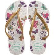 Havaianas Slim Garden Flip Flop (Toddler/Little Kid) - 休闲凉鞋 - $13.99  ~ ¥93.74