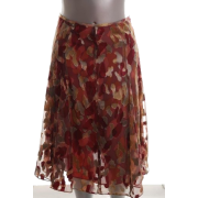Jones New York Collection Genoa Petite A-line Skirt Printed BHFO Sale 8P - Suknje - $129.00  ~ 819,48kn