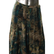 Jones New York Collection Petite A-line Skirt Printed Pintuck Sale 8P - Suknje - $129.00  ~ 819,48kn