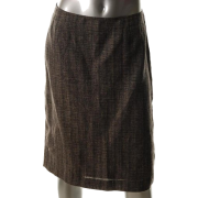 Jones New York Collection Printed Linen Straight Skirt Sale 10 - Skirts - $89.00