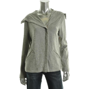 Jones New York December Jacket Top Gray BHFO Sale Misses Shirt L - Long sleeves t-shirts - $79.00
