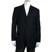 Jones New York Navy Wool LS 3 Button Sport Coat - Suits - $227.50