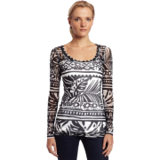 Karen Kane Women's Long Sleeve Crew Top - Top - $39.50