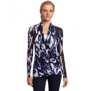 Karen Kane Women's Long Sleeve Wrap - Top - $48.07