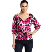 Karen Kane Women's Split Neck Top - Top - $49.20  ~ 312,55kn