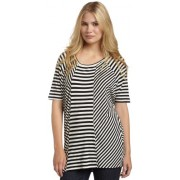 Kenneth Cole Women's Mixed Stripe Tunic - Tunic - $22.14
