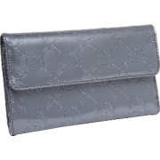 Loungefly - Hello Kitty Grey Embossed Wallet - Wallets - $29.00