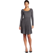 Maxandcleo Womens Ruffle Neck Sweater Dress - Dresses - $58.68