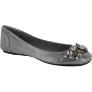 Nine West Women's Strand Shoes Pewter - Flats - $59.97