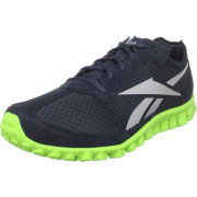 Reebok Men's Realflex Runner Running Shoe Mesh/Black/Grey/Acid Green - Sneakers - $69.99