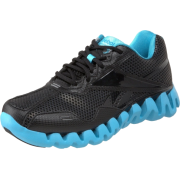 Reebok Men's Zig Energy Running Shoe Black/Neon Blue - Sneakers - $39.99