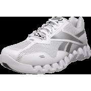 Reebok Men's Zig Energy Running Shoe White/Pure Silver - Sneakers - $39.99