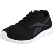 Reebok Women's Realflex Running Shoe Black/Gravel/White - Sneakers - $50.00
