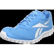 Reebok Women's Realflex Running Shoe Blue Blink/White - Sneakers - $50.00