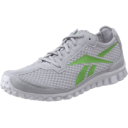 Reebok Women's Realflex Running Shoe Steel/Sushi Green/White - Sneakers - $50.00