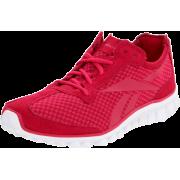 Reebok Women's Realflex Running Shoe Uberberry/Overtly Pink/White - Sneakers - $50.00